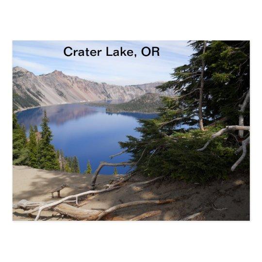 Lago crater, O Postal
