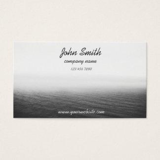 Lago de niebla (moderno y profesional) tarjeta de negocios