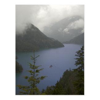 Lago diablo - cascadas del norte postal