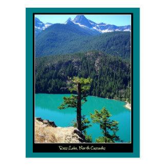 Lago en las cascadas del norte, Washington Ross Postales
