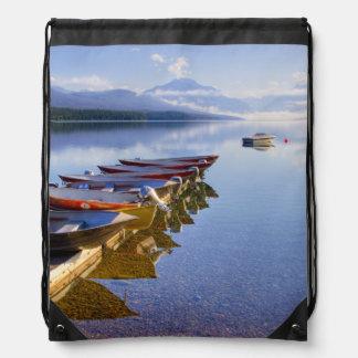 Lago McDonald, Parque Nacional Glacier, Montana, Mochilas