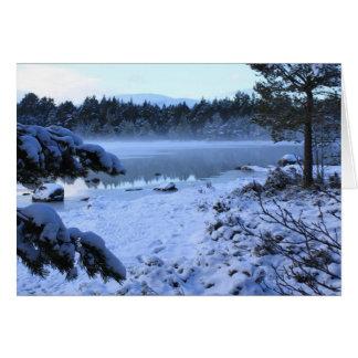 Lago Morlich, Escocia Tarjeta