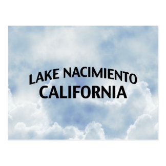 Lago Nacimiento California Tarjetas Postales