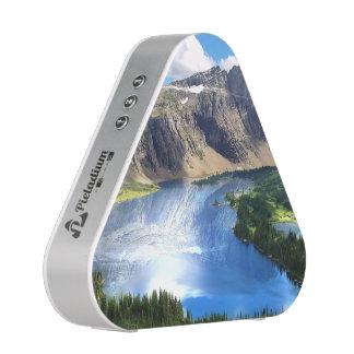 Lago ocultado en Parque Nacional Glacier Altavoz Bluetooth