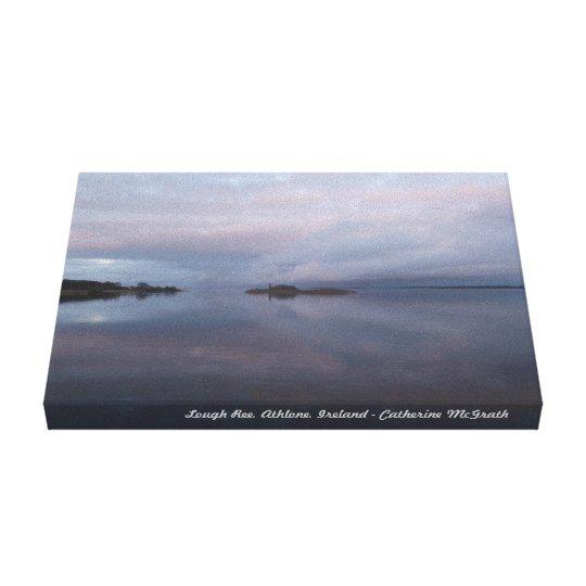 Lago Ree, Athlone, Irlanda Lienzo