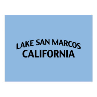 Lago San Marcos California Postales