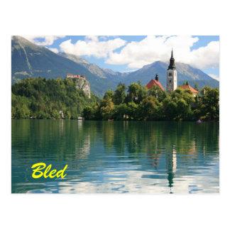 Lago sangrado postal