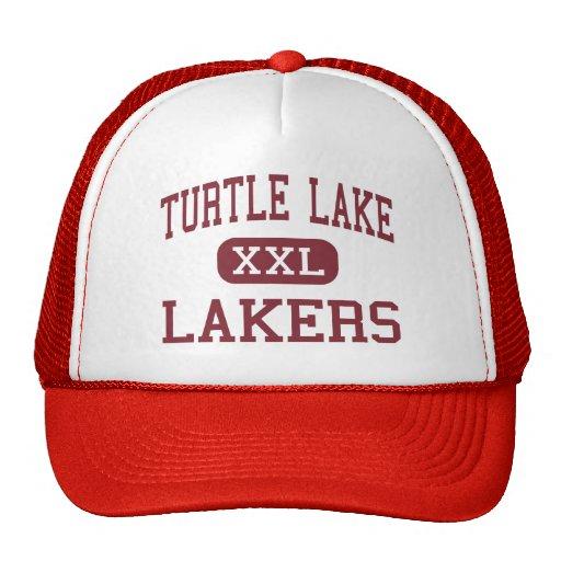Lago turtle - Lakers - alto - lago turtle Gorro De Camionero