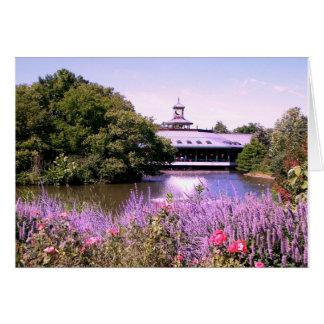 Lago zoo de St. Louis Tarjeta
