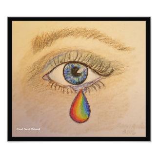 Lágrima del orgullo de Orlando Foto