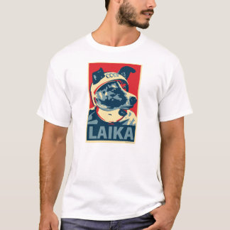 Laika el perro del espacio - Laika: Camiseta de