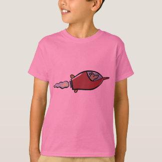laika el spacedog camiseta