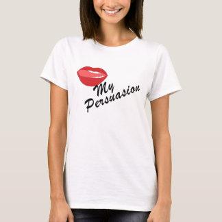 Lama camiseta de las señoras de la persuasión