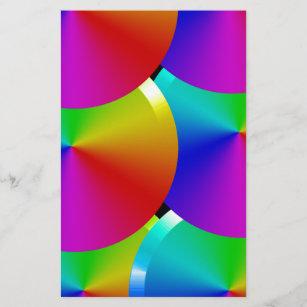 Lámina Colores del arco iris