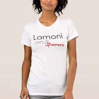 Lamoni - cielo para los demonios camiseta