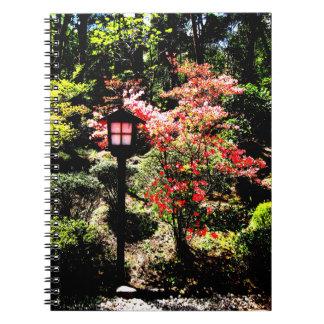 Lamp and Flower Libreta