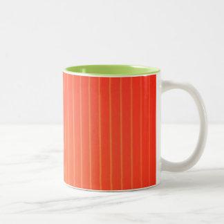 Lámpara anaranjada del LED Taza De Café De Dos Colores