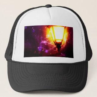Lámpara de calle de la fantasía gorra de camionero