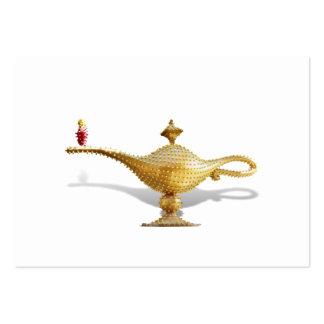Lámpara de la magia de Las Vegas Tarjetas De Visita Grandes