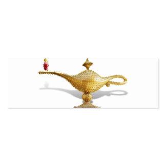 Lámpara de la magia de Las Vegas Tarjetas De Visita Mini