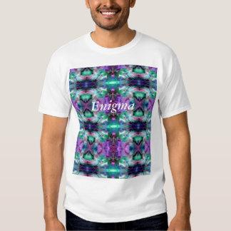 Lámpara mágica 4 que brilla intensamente abstracta camiseta