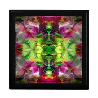 Lámpara mágica 5 adornada, joyero colorido cajas de recuerdo