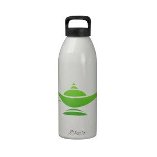 Lámpara mágica botellas de agua reutilizables
