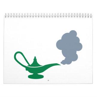 Lámpara mágica calendarios
