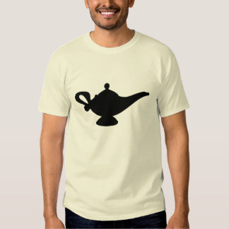 Lámpara mágica camiseta