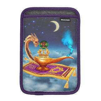 Lámpara mágica del dragón fundas de iPad mini