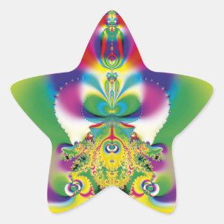 Lámpara mágica pegatina forma de estrella personalizada