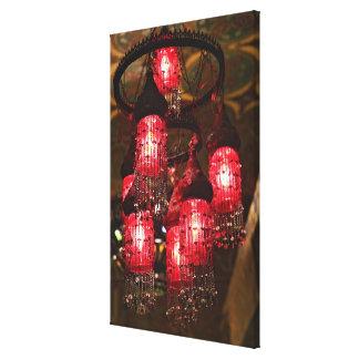 Lámpara para la venta, bazar del EL Khalili de Impresion De Lienzo