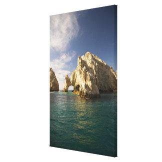 Land's End, el arco cerca de Cabo San Lucas, Baja Impresión En Lona Estirada