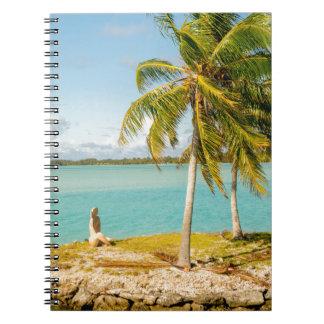 Landscape of bora bora cuaderno