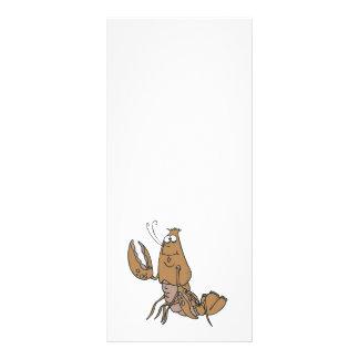 langosta que agita tonta folleto publicitario 10 x 22,8 cm
