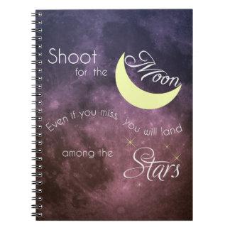 Lanzamiento para el cuaderno inspirado de la foto