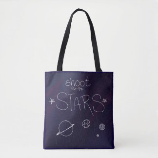 Lanzamiento para la bolsa de asas de las estrellas
