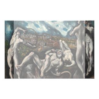 Laocoon de El Greco Tarjetas Publicitarias