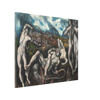 Laocoon de El Greco Impresión En Lienzo Estirada