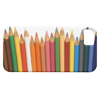 lápices de color iPhone 5 funda