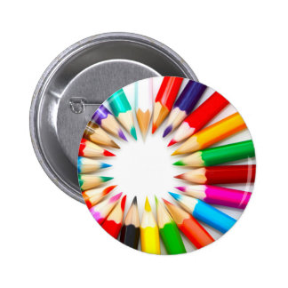 Lápices del color chapa redonda 5 cm