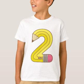 Lápiz #2 camiseta