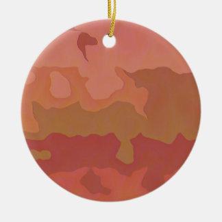 Lápiz labial derretido - extracto beige atractivo adorno de navidad