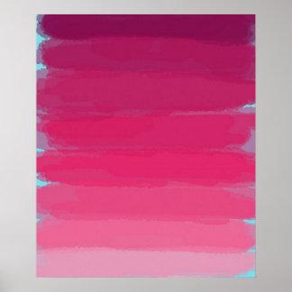 Lápiz labial: Sombras de la impresión rosada del