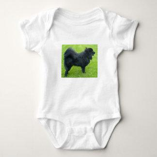 lapphund sueco por completo body para bebé