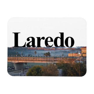 Laredo, horizonte de TX con Laredo en el imán del