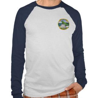 Largo dominante WPB-1324 de USCGC Camisetas
