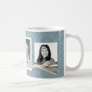 Las 3 fotos lindas envueltas con la cinta del taza