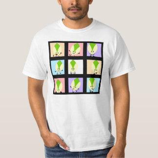 Las 9 caras del pistacho camiseta