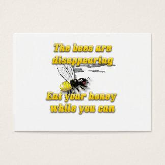 Las abejas están desapareciendo tarjeta de negocios